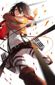 mikasa by lackless on deviantart