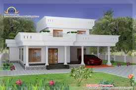 duplex home elevation kerala design floor house plans 53722