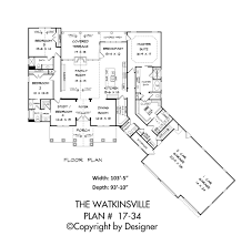 floor plans for a house watkinsville house plan house plans by garrell associates inc