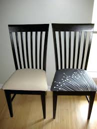 How To Upholster A Dining Room Chair Reupholster Dining Chair With Leather Reupholstering Dining Chair