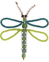 savings on plastic clear butterfly dragonfly ornaments
