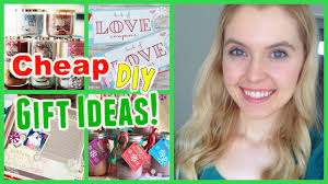 cheap and easy diy christmas gift ideas youtube