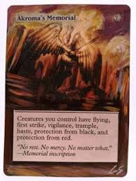akroma s memorial karrthus tyrant of jund this is only one of my altered cards from