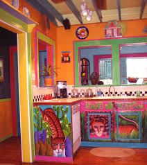 kitchen design with cool mexican kitchen decor images also