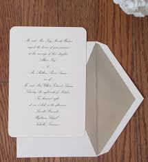 traditional wedding invitation wording dear addie fine stationery