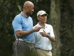 after somber statement obama golfs with friends masslive com