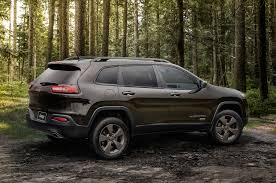 modified jeep cherokee 2016 jeep lineup adds 75th anniversary edition for all models