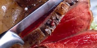 cuisiner un rosbeef rosbeef dans le filet facile recette sur cuisine actuelle