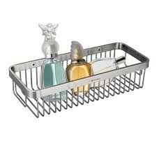 Bathroom Shower Shelves Stainless Steel by Homeideas Shower Caddy Corner Stainless Steel Shower Basket