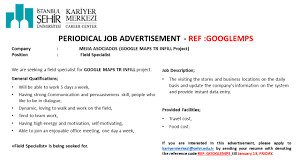 Google Job Resume by Job And Intern Opportunities U2013 Kariyer Merkezi