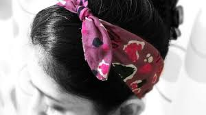 hair band how to make a knotted fabric hair band diy style tutorial
