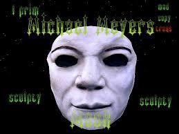 Michael Myers Mask Second Life Marketplace Face Mask Michael Myers