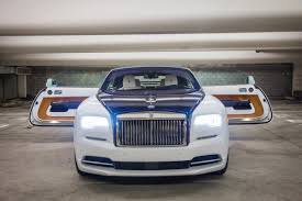 roll royce phantom custom this custom built rolls royce was designed to look like a yacht