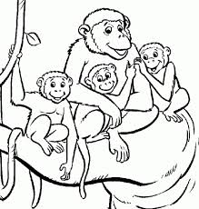 get this monkey coloring pages printable 39041