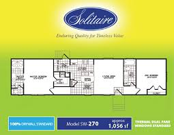 single wide manufactured homes floor plans single wide floorplans in tx ok and nm solitaire homes