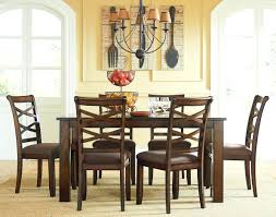dining room tables denver dark oak finish casual dining table optional chairs with casters