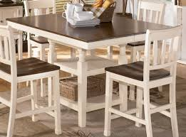 magnificent rustic white kitchen table