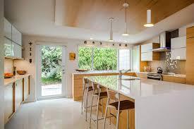quartz countertops mid century kitchen cabinets lighting flooring