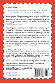 thanksgiving columbus red white and blue letter days an american calendar matthew