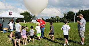 balloon a gram rochester ny balloon sats launch a science experiment on a weather balloon