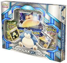 amazon com pokemon tcg snorlax gx box card game toys u0026 games