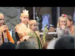 moriah 3 y o in a small thanksgiving play skit at our church on