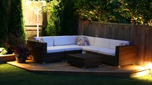 Patio Furniture Sectional Seating - the kitsilano outdoor patio sectional vancouver sofa company