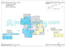 hillside floor plans al badia hillside floor plans justproperty