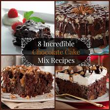 download box chocolate cake recipe food photos