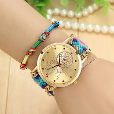 weave friendship bracelet images Vansvar handmade braided dreamcatcher friendship bracelet watch jpg