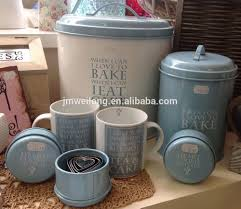 tin storage container kitchen storage canister biscuit jar buy