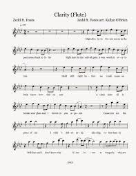 Download K Naan Wavin Flag Flute Sheet Music Clarity Sheet Music