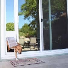 Patio Doors With Built In Pet Door Endura Flap Thermo Panel 3e Sliding Glass Dog Door