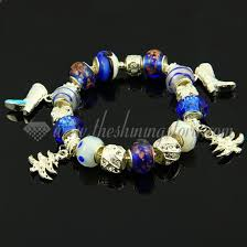 european bracelet charms images Silver charms bracelets with european murano glass european beads jpg