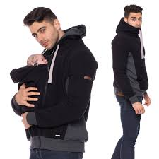 men carrier jacket baby carrying coat for men for father and