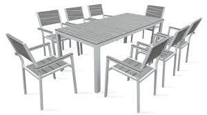 table de jardin haut de gamme awesome salon de jardin alu et bois images amazing house design