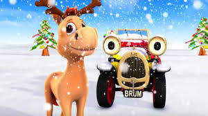 brum santas reindeer christmas cartoons for children