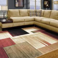 Cream And Grey Area Rug by 20 Ways To Square Contemporary Rugs