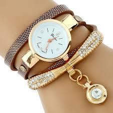 gold ladies bracelet watches images Gnova platinum fashion luxury brand new women rhinestone gold jpg