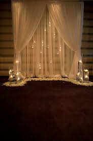 wedding backdrop tulle images about lighting draping on ceiling and backdrops