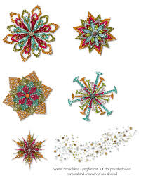 winter snowflakes set 3 by hggraphicdesigns on deviantart