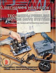 tecumseh peerless motion drive systems service manual u2022 29 95