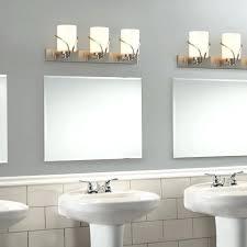 bathroom bathroom crystal light fixtures bathroom lights over 4