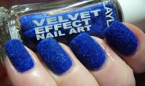 layla velvet effect nail art 09 sweet dreams pointless cafe