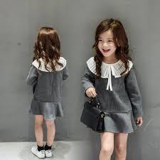 flutter style dress 2017 new girls dresses kids flutter flounce party dress for girls