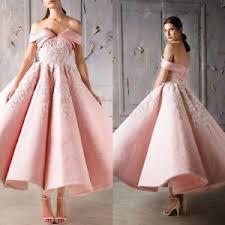 pink wedding dresses hot pink wedding dresses bridal gowns shoulder tea length