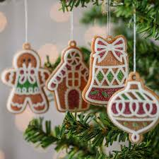 gingerbread ornaments faux gingerbread ornaments christmas ornaments christmas and