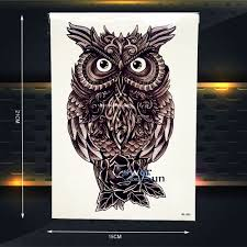 compare prices on temporary owl tattoo online shopping buy low