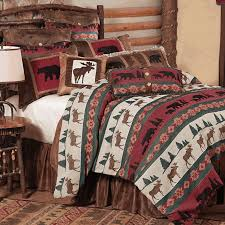 inspired bedding summit trail moose bedding collection