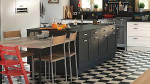 monter une cuisine aménagemer une cuisine ouverte en longueur pas cher